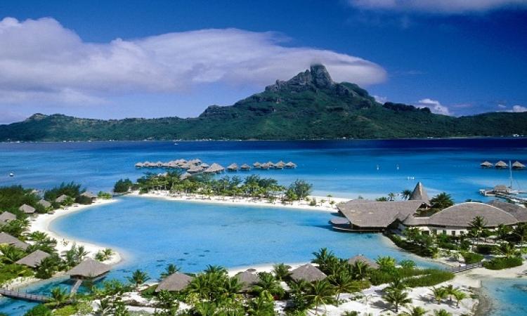 جزيرة بورا بورا .. واحة السحر والاستجمام
