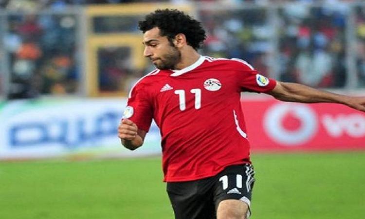 محمد صلاح وسيلفى المنتخب