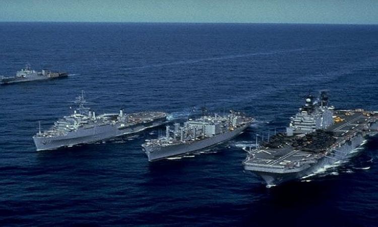 السفن الأمريكية تطلق صواريخ كروز على  صنعاء
