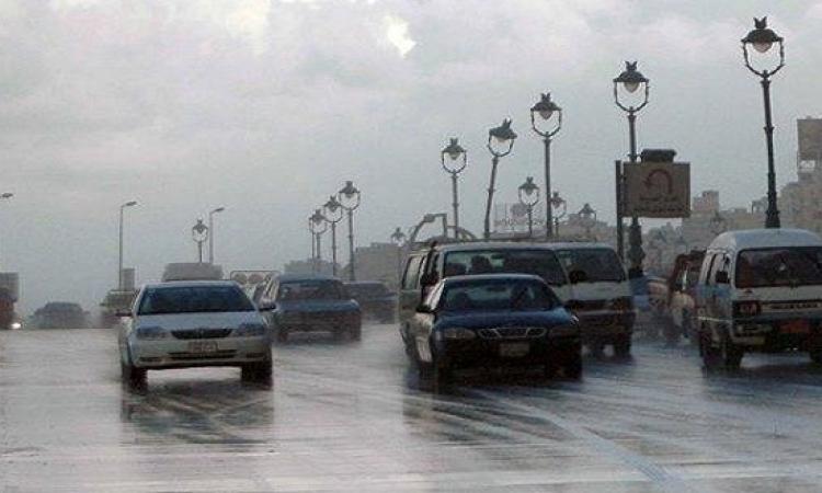 الأرصاد تحذر : استمرار الطقس السىء اليوم وأمطار رعدية على معظم البلاد