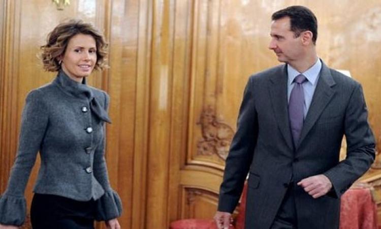 بشار الأسد يطلق زوجتة وهى تهرب بأبنائه إلى لندن
