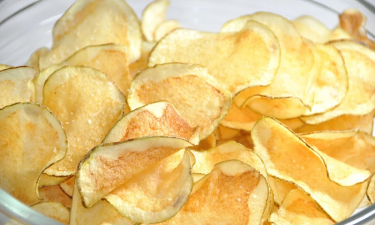 اصنعى بطاطس الشيبسى المقرمش فى المايكروويف