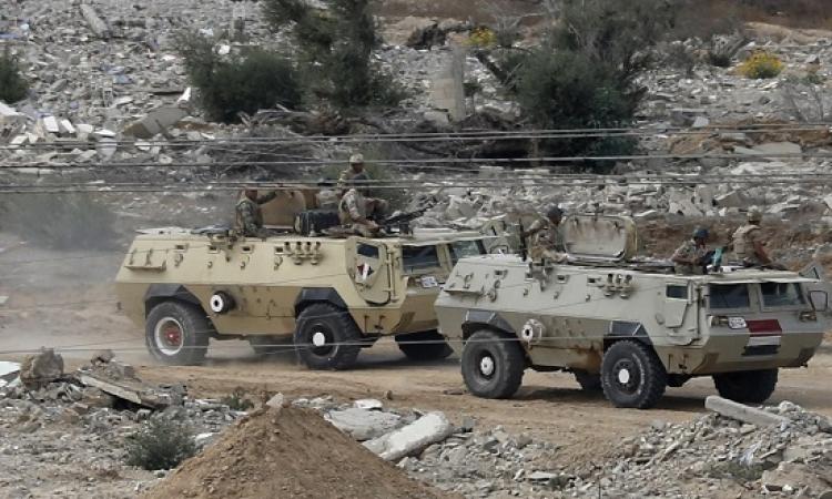 انطلاق عمليات أمنية موسعة فى شمال سيناء