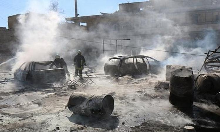 استشهاد 32 مدنيًا بينهم طفل وثلاث نساء فى سوريا