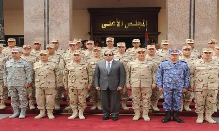 القوات المسلحة تتوعد باستئصال الإرهاب من أرض مصر
