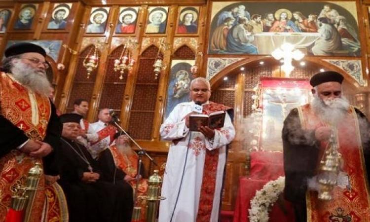 الأقباط يحتفلون بعيد القيامة المجيد وسط إجراءات أمنية مشددة