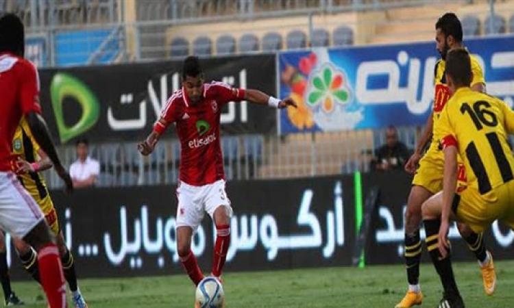 الأهلى يخسرامام المقاولون العرب 0-1