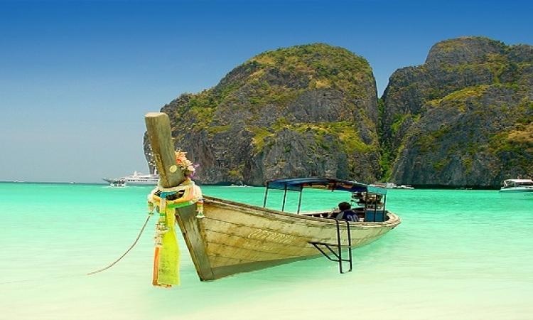 سحر الطبيعة فى جزيرة  Phi Phi فى  تايلاند