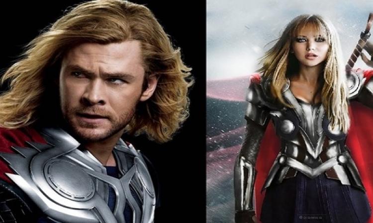 """بالصور .. نجمات هوليود يقتحمن الـ """"Avengers"""" .. ليه لأ مش البنت زى الولد !!"""
