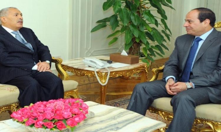 السيسى يلتقى مبعوث منصور : نسعى للحفاظ على وحدة اليمن وصون مقدراته