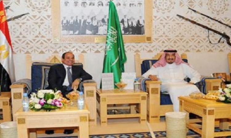السيسى فى السعودية غداً للقاء الملك سلمان