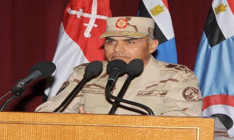 وزير الدفاع يؤكد تنفيذ الإرهاب سهل .. ومواجهته فى منتهى الصعوبة