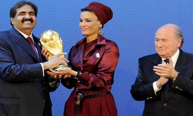 بعد القبض على 6 من مسئولى الفيفا .. التحقيق فى استضافة قطر لمونديال 2022
