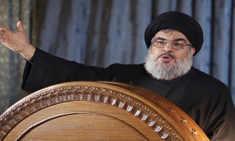 نصر الله : تمويل حزب الله يأتى بالكامل من إيران