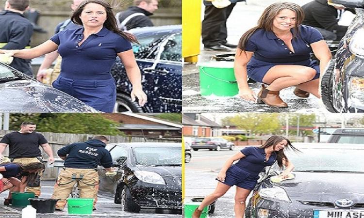 زوجة رجل برلمانى وبتغسل السيارات فى الشارع.. مش زى عندنا