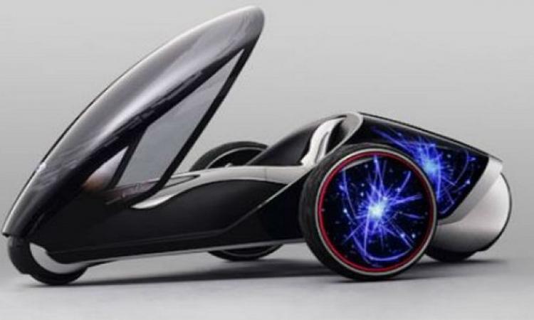 تويوتا تقدم تصميمًا طريفًا للسيارة الثلاثية المقاعد