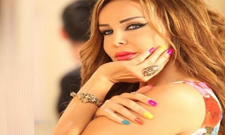 """بالصور..رولا سعد بشعر أخضر والجمهور """".."""""""