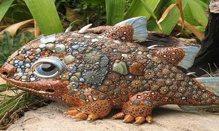 اوكرانيتان تصنعان مخلوقات خرافية صغيرة .. طبيعى اكثر من الطبيعى !!