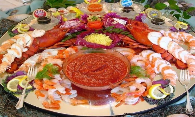 المأكولات البحرية تطيل العمر
