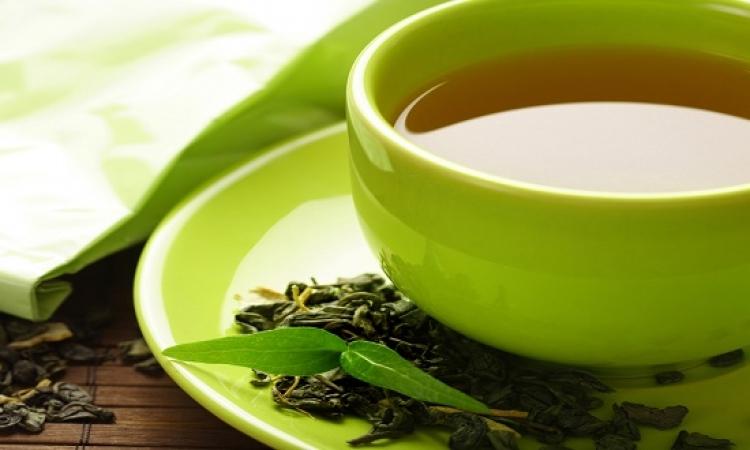 الشاى الاخضر يساعد على التركيز ويقلل من الاصابة بالسكر