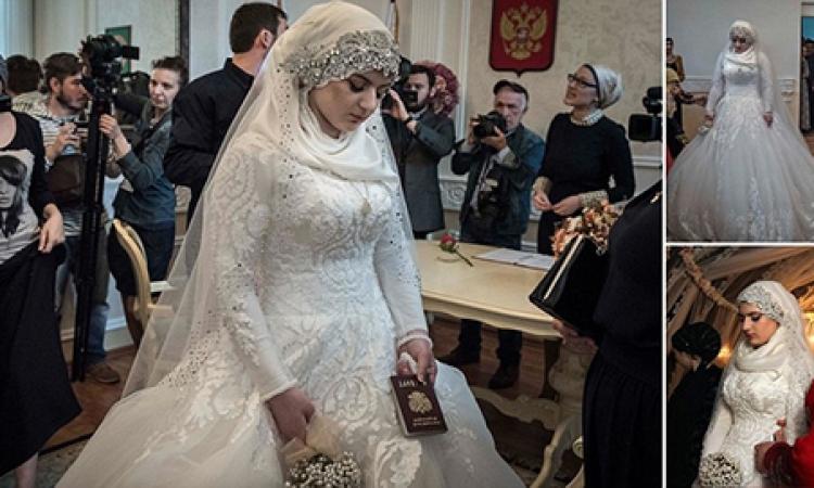 بالفيديو والصور.. حكاية فتاة شيشانية تزوجت تحت التهديد بالخطف