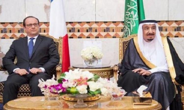 فرنسا والسعودية حريصان على التعاون السياسى والعسكرى