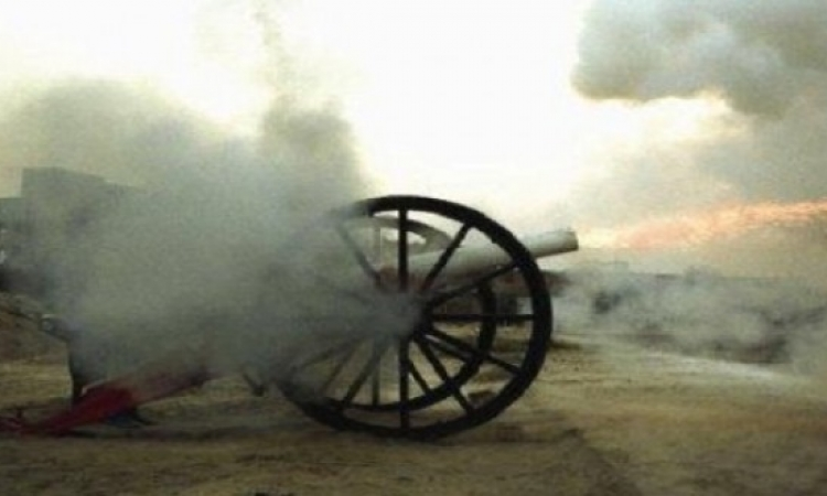 البعثة الروسية تعثر على مدفع حربى أثرى فى ميناء الأسكندرية