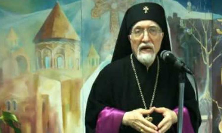 """الكنيسة الكاثوليكية تعلن وفاة """"نرسيس بدروس"""" بطريرك الأرمن الكاثوليك"""