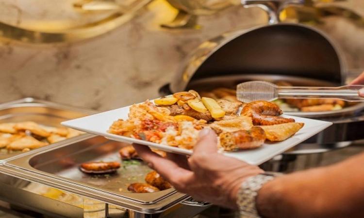 بوفية إفطار خيمة أربيسك فى DUO Restaurant