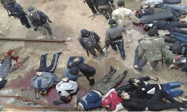 داعش نفذت أكثر من 3 آلاف عملية إعدام خلال عام بسوريا