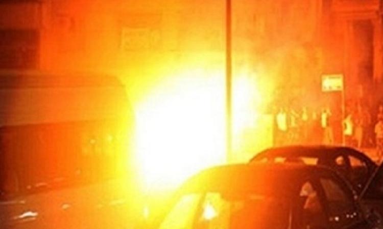 انفجار قنبلة بجوار مركز شرطة  بجنوب بنى سويف