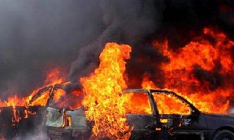 انفجار عبوة ناسفة أسفل سيارة لاستهداف قسم شرطة ثان أكتوبر