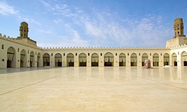 مسجد الحاكم بأمر الله .. تحفة من المعمار الإسلامى