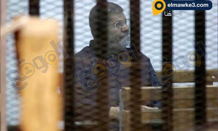 جنايات القاهرة تستكمل محاكمة المعزول فى قضية التخابر مع قطر