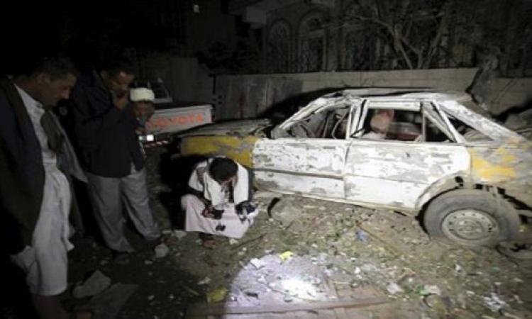 داعش يتبنى تفجير سيارة خارج مسجد فى صنعاء