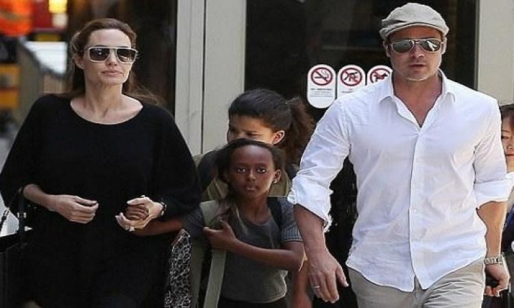 """انجلينا جولى مهددة بخسارة ابنتها بالتبنى والسبب"""".."""""""