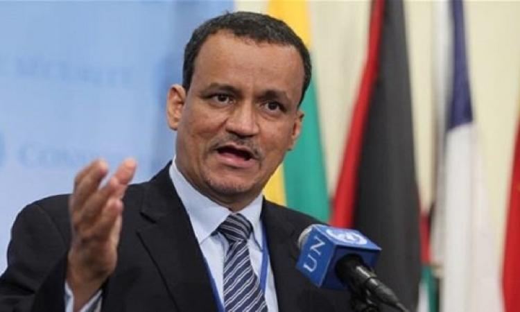 المبعوث الأممي إلي اليمن يطالب بوقف فوري للنار وهدنة طويلة