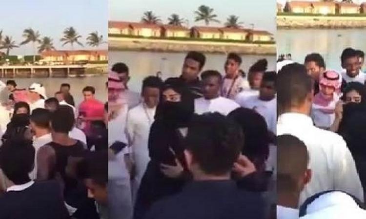 بالفيديو .. مفاجأة فى التحرش الجماعى بجدة : البنتين طلعوا هما اللى عاكسوا الشباب .. قبل ما يتحرشوا بيهم !!
