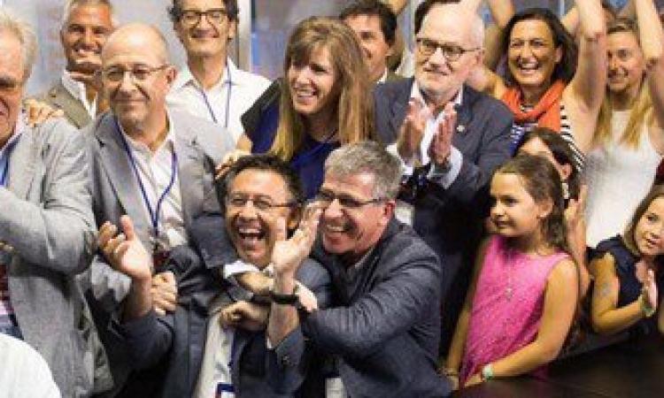 بارتوميو يفوز بمنصب رئيس برشلونة الإسبانى