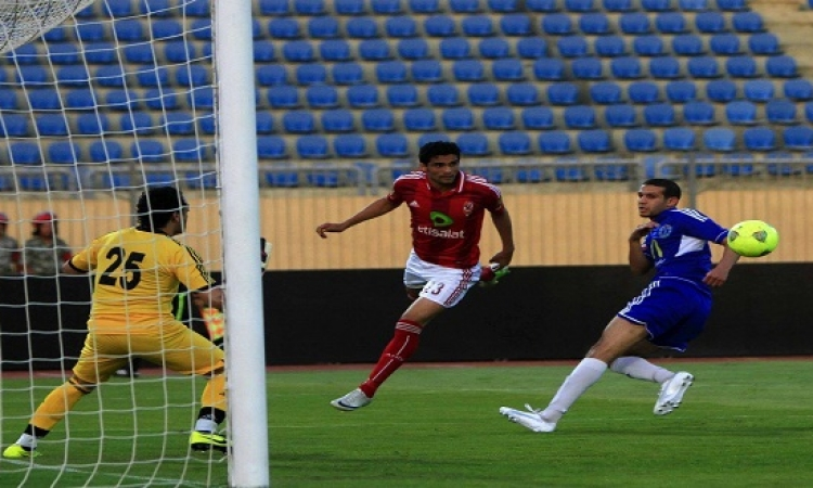 مباراة الأهلى وسموحة على التلفزيون المصرى