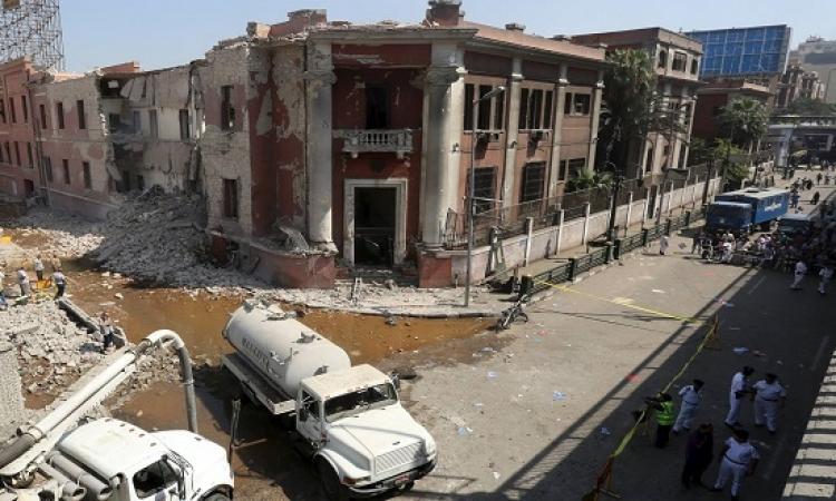 الداخلية توضح ملابسات انفجار القنصلية الإيطالية .. وارتفاع الضحايا إلى قتيل و 10 مصابين
