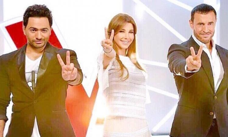 تامر حسنى ونانسى عجرم وكاظم الساهر ينضمون للجنة تحكيم The Voice Kids
