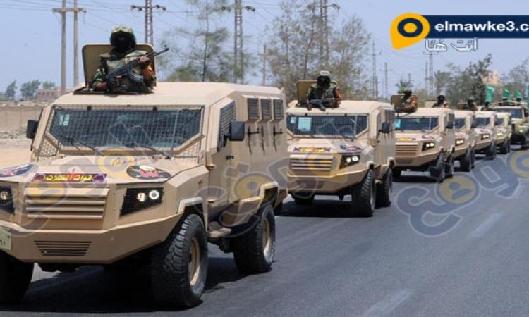القوات المسلحة تشارك في تأمين الجبهة الداخلية في ذكرى 25 يناير وأعياد الشرطة