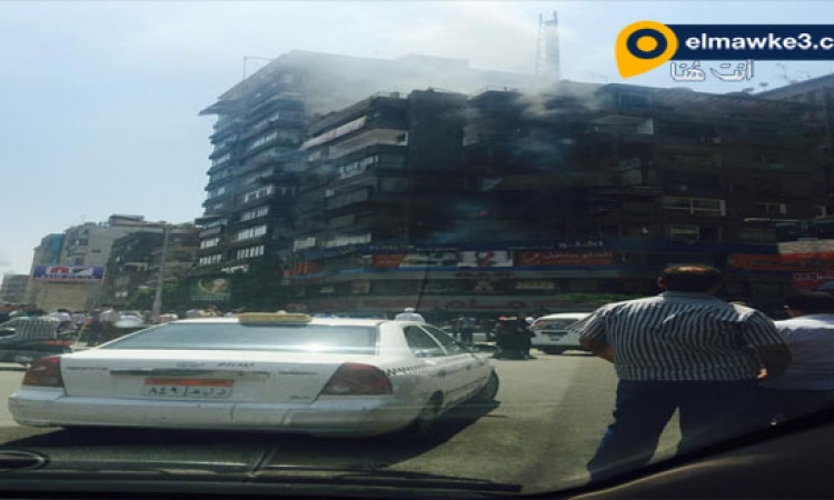 بالصور .. حريق بشقة أعلى مطعم من المطاعم الكبرى فى المهندسين