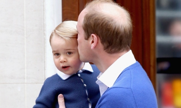بالصور .. الأمير جورج يحتفل بعيد ميلاده