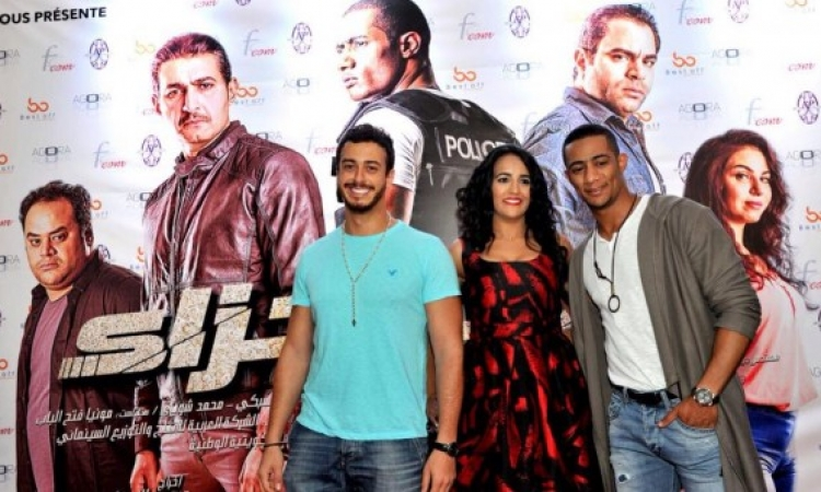 محمد رمضان يحضر عرض فيلمه مع سعد المجرد فى المغرب