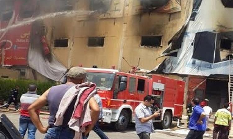 17 مصاب خرجوا من مستشفى السلام فى حادث حريق مصنع العبور