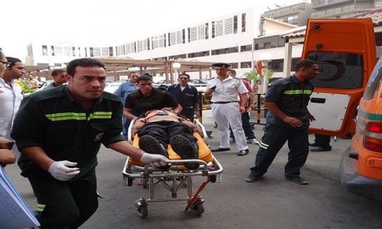 إصابة أربعة رجال شرطة فى اشتباكات فى منطقة العوامية بالأقصر