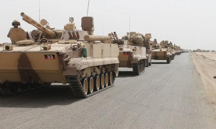 وصول تعزيزات عسكرية سعودية إلى محافظة مأرب اليمنية