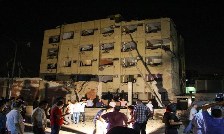 داعش يتبنى تفجير مبنى الأمن الوطنى بشبرا الخيمة